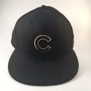 New ERA MLB Chicago fitted hat w/ GOLD embroidery